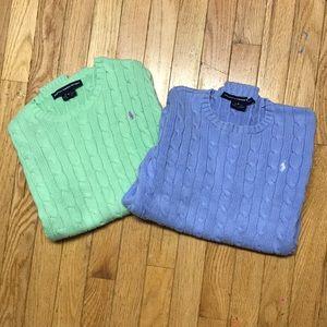 2 Ralph Lauren Sweaters